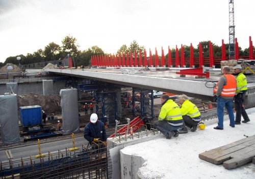 Erneuerung des Brückenbauwerks AW 0 über die Buchholzer Straße (L382) in Hannover