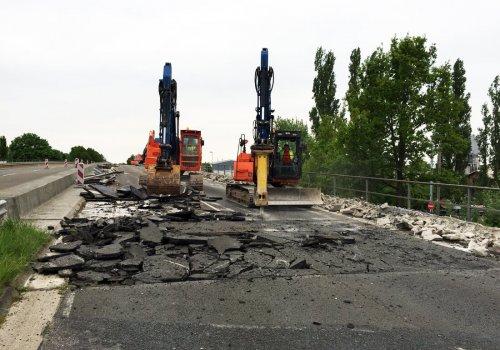 Erneuerung der Überführung BW 543, Bremen/Hemelingen