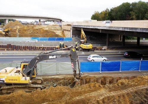 Neubau Autobahnüberführung der A 1 über die A 43 am Kreuz Münster-Süd
