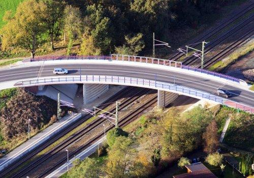 Naubau Bahnbrücke BW 12150 bei Stubben